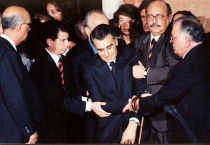 Tomada de posse de António Guterres, 1995